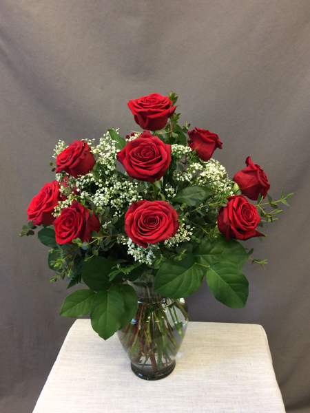 Timeless - $69.00 classic dozen red roses