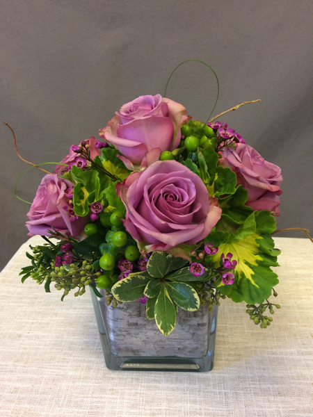 Ashberry - 6 lavender roses- $39.00