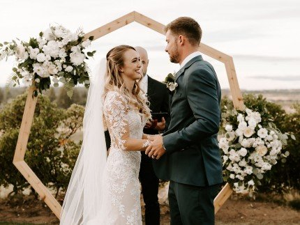 Floral Wedding Alter