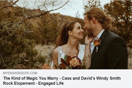 Cass and David's Wedding Article